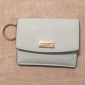Small Kate Spade wallet - light blue